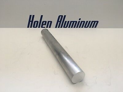 "2-1/2"" X 10"" Aluminum Round Rod Solid 6061-T6 2.5"" Bar Stock Machinable"