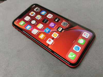 Apple iPhone XR (PRODUCT)RED - 256GB - (Unlocked) A2105 (GSM) (AU Stock)