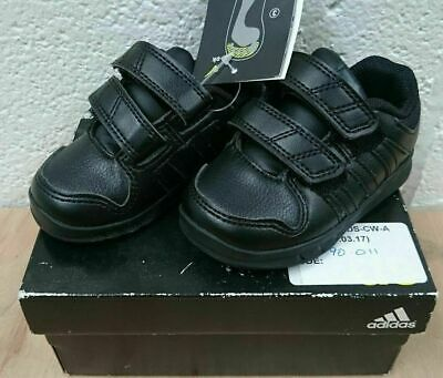 Kids black adidas trainers size 4k, Free Tracked Post