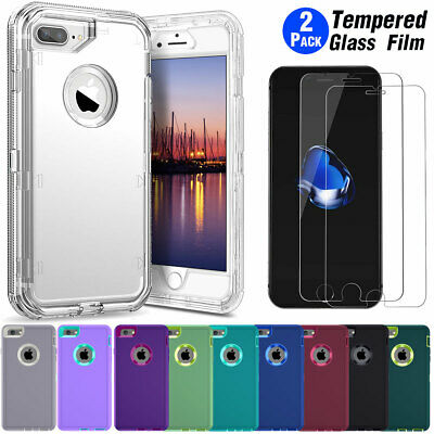 For iPhone 8 / 7 Plus 6 / 6s Plus Case Cover Protective Hybrid Rugged Shockproof