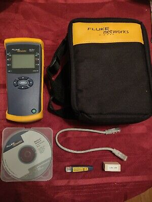Fluke Networks NetTool Series II Inline Network Tester, Case, Mapper MORE Kit