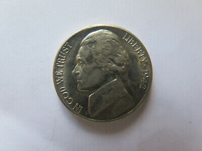 1942 S USA JEFFERSON NICKEL in EXCELLENT COLLECTABLE CONDITION 35% SILVER