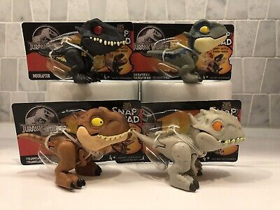 Jurassic World Snap Squad Wave 1 Mini Dinosaurs
