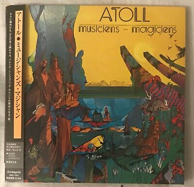 Atoll, Musiciens-Magiciens, CD,,Paper Sleeve,Musea export Japon,11 titres