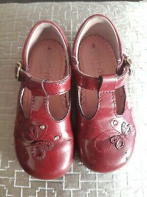 Startrite Cherry Red 6g Pretty Butterfly Shoes