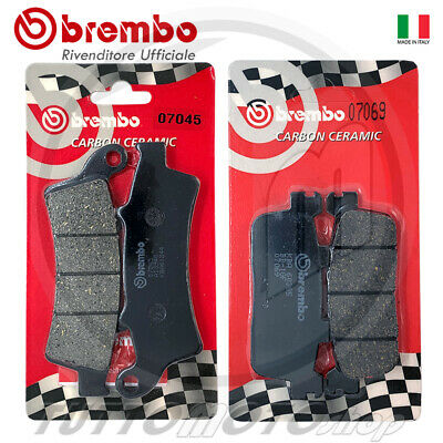 Pastiglie Freno Ant + Post Brembo Kymco Downtown 350 2015 2016 2017 2018