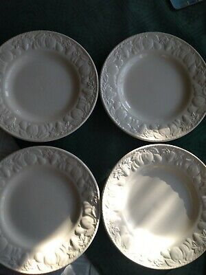 Bhs Lincoln Tea Plates X 4 Collectable Tableware B&B