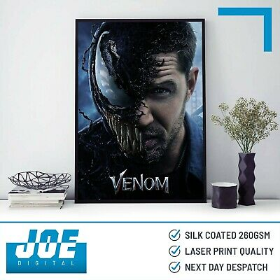 A4 print limited edition A3 AUTOGRAPHED Bloodthirsty VENOM