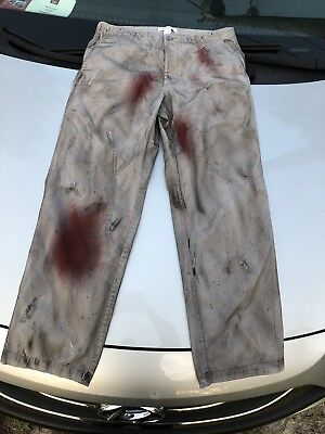 Jason Voorhees Part 4 Scuffed Hand Created Pants-high Quality- Plz Read Details