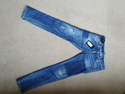 Boys Dsquared2 Jeans Age 14y Worn Only  couple of times- Paid £270