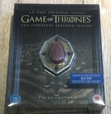 Game of Thrones Season 7 Steelbook + Sigil Magnet