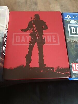 Days gone PS4 With Special Edition Steel book edition.