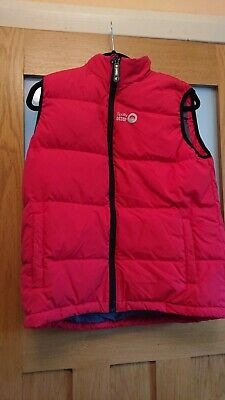 Spotty Otter Down Gilet - Age 11-12 - Red