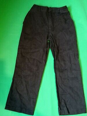 Boys M & S Marks & Spencer Black Trousers 9 - 10 Years excellent condition