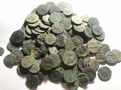EXELLENT UNCLEANED AND UNSORTED ROMAN COINS  5 coins per click