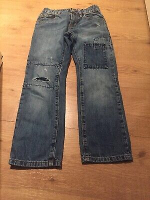 Gap Kids Boys Blue Denim Slim Straight Fit Jeans Age 8 Regular