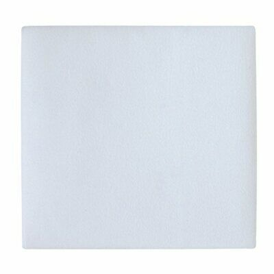 Carter's Flannel Protector Pad, Solid White, One Size (White)