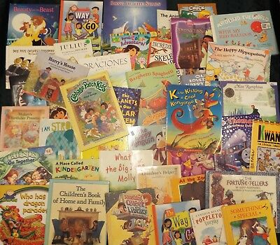 Childrens Books Storytime & Bedtime Paperback & hardcover Random Lot of 20