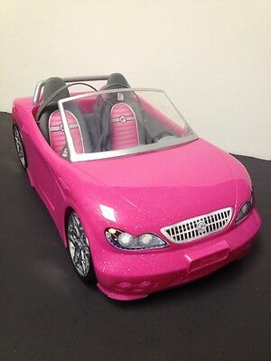 Barbie Car Glam Pink Convertible BDF38