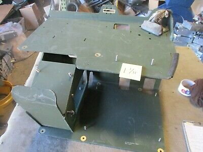 Used Mounting Plate for Deck of Blue Force Tracker BFT Mount in HMMWV M998
