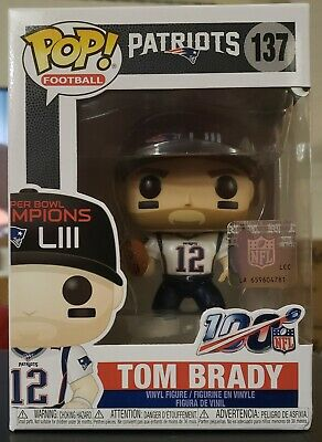 FUNKO POP! Tom Brady # 137 NFL New England Patriots