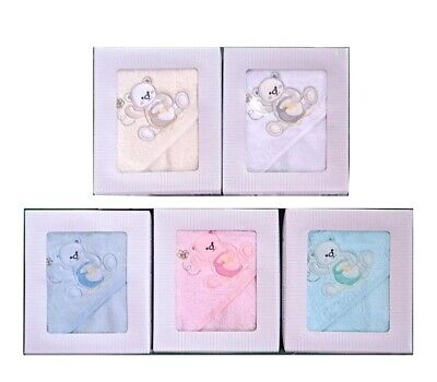 [50%OFF!]  Baby 100% Cotton Towel Hooded Bear