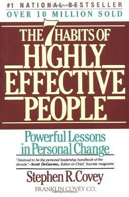 The 7 Habits of Highly Effective People Stephen R. Covey (DIGITAL COPY)
