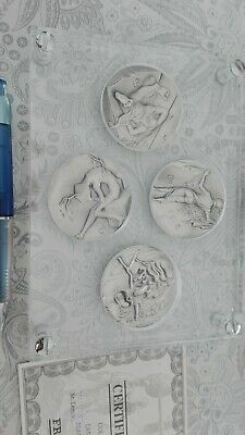 Dalí silver medal collection