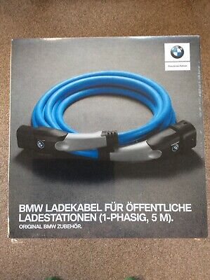 BMW charging cable New And Boxed