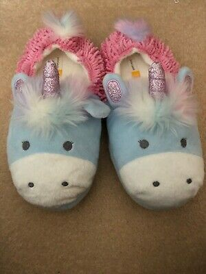 Unicorn Slippers John Lewis Girls Size 3 Brand New
