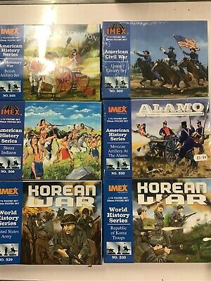 Imex 1/72 Plastic Figures Various Sets Boxed And Sealed