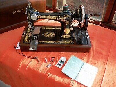 Singer 28k Vibrating Shuttle m/c 1929 in excellent working & cosmetic condition