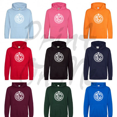 Morgz Inspired Logo Hoodie Morgz Vlogger You Tube Kids Hoodie Various Colours