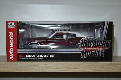 Autoworld American Muscle 1:18 Chevrolet Chevelle SS 454 1970 AMM 1011