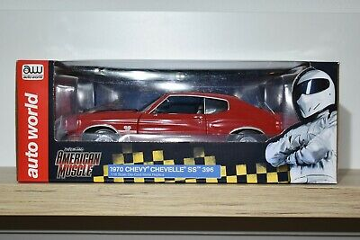 """Autoworld American Muscle 1:18 Chevrolet Chevelle SS 396 """"TopGear"""" 1970 AMM 1021"""
