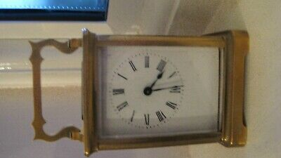 Antique Carriage Clock and Case