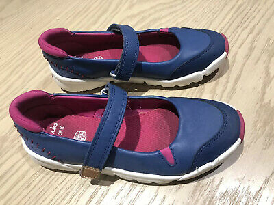 Clarks Trigenic Blue And Pink Shoes - Worn Twice, Size 11.5