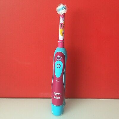 Braun Oral-B Kids Stages Power Battery Toothbrush with Timer Disney Princess