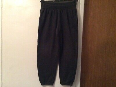 Bhs Flipback Charcoal Grey Boys Jogging Bottoms, Aged 12-13 Years