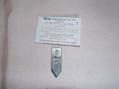 Replacement Knife for Edlund No.1 Commercial Can Opener, New Old Stock