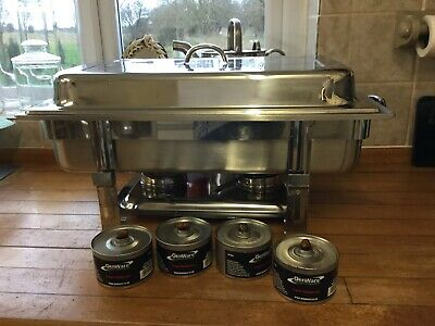 1 LARGE chafing dish chaffing warmer tray lid cater buffet party catering
