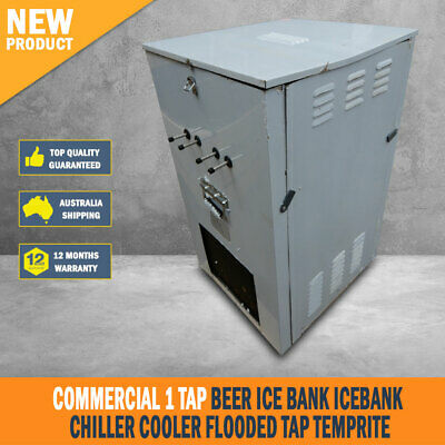 New Commercial 1 Tap Beer Ice Bank Icebank Chiller Cooler Flooded Tap Temprite