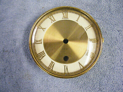 Brass Clock Dial Bezel And Glass