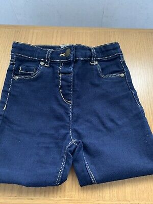Tu  Girls Dark blue denim jeans Age 2-3 years. New without tags.