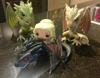 Game of thrones Daenerys' Dragons Set Pop Funko