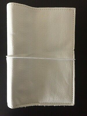 Foxy Fix Personal Size Ring Binder Snow Lush Leather***New***