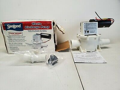 Dometic SeaLand 317301200 T Series Waste Discharge Pump 12 Volt Dometic