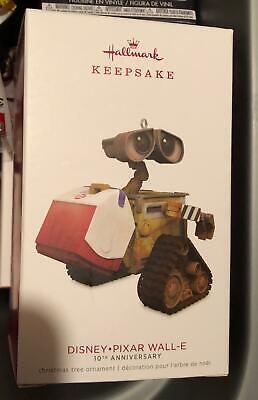 Wall-E Disney Hallmark Keepsake Ornament 2018 10th Anniversary Pixar