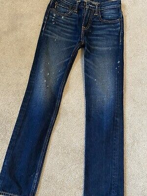 boys abercrombie Slim Fit Jeans Age 12 Years