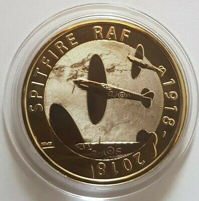 2018 Royal Mint RAF Spitfire BU Two Pounds £2 coin Brilliant Uncirculated BUNC